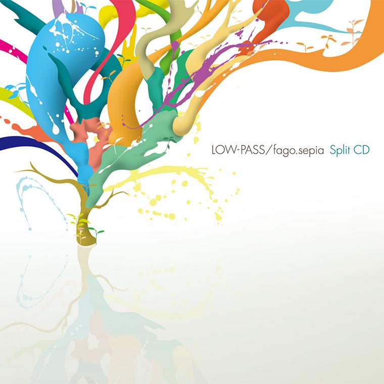 LOW-PASS / fago.sepia Split EP
